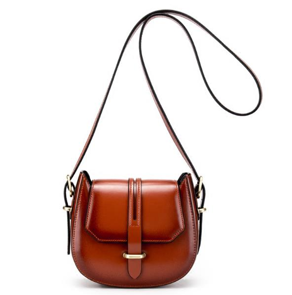 Our ReALIty 1 Great Quality Saddle Bag Genuine Leather Women Crossbody Fashion Bag Chain Famous Brand Sac A Main EGT0207