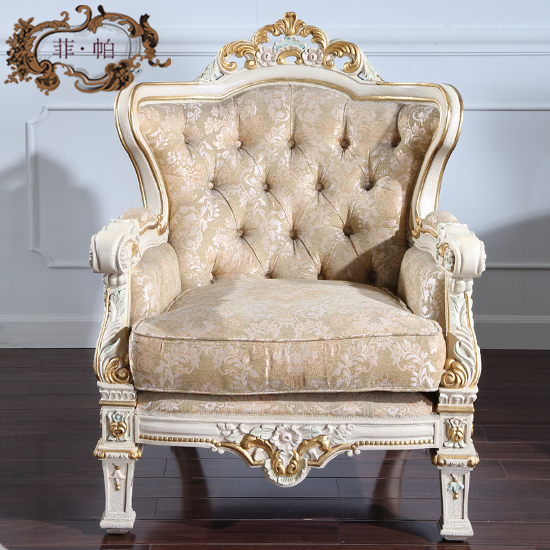 french chateau furniture living room furniture-in Living ...