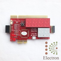 General Computer Desktop Notebook LPC Six Diagnostic Card PCI E Motherboard Test Card