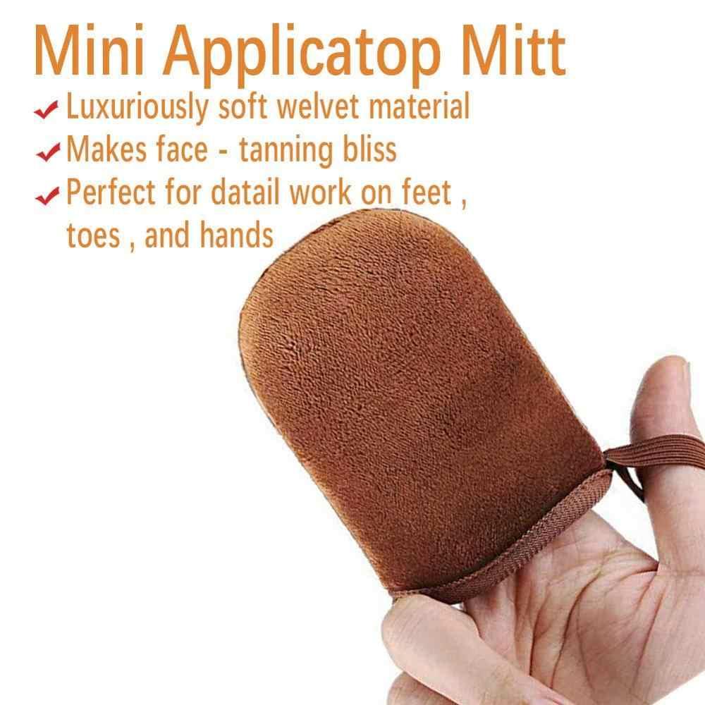 Grosir 5 Pasang Tanpa Matahari Tubuh Self Tanning Mitt Perunggu Cream Aplikator Sarung Tangan Menyerap Kurang Lotion Tidak Pernah Kebocoran