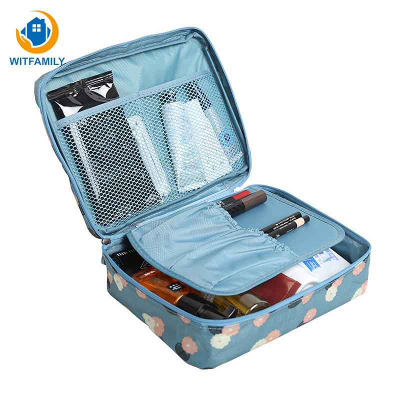 Travel Organization Beauty Cosmetic Make up Storage Cute Lady Wash Bags Supplies item Products Handbag Pouch Accessories