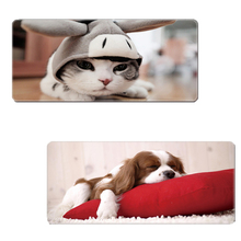 Viviration Print Rubber Mousepad New Locked Edge Gaming Mat Pad For Trackball Laser Optical Mouse Mice Overwatch Dota