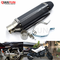 for Motorcycle parts Exhaust Universal 51mm Stainless Steel Motorbike Exhaust Pipe For Triumph TIGER 800/XC 2011 2014