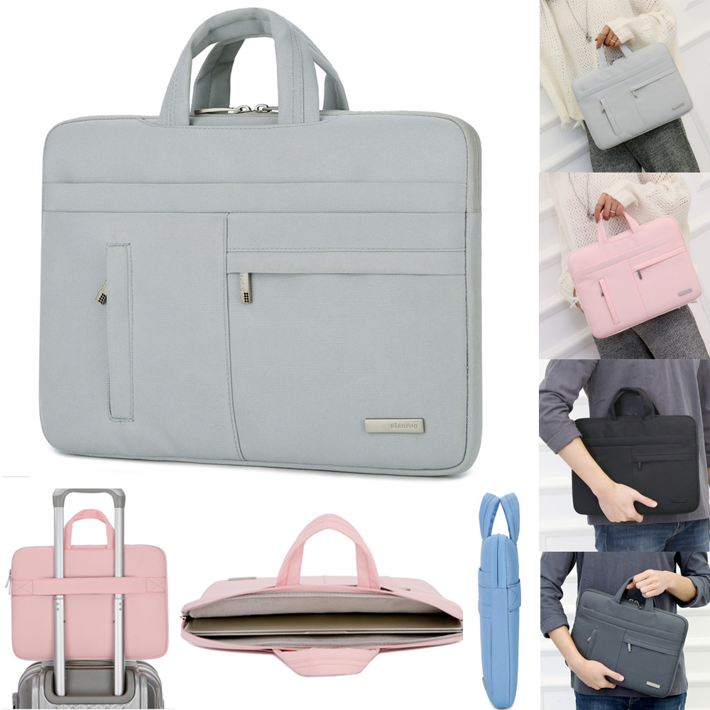 Protable Handbag Sleeve Case for Laptop 13 14 15.6,Notebook Bag For MacBook Air Pro 11.6 13.3,Drop Shipping Price $17.99