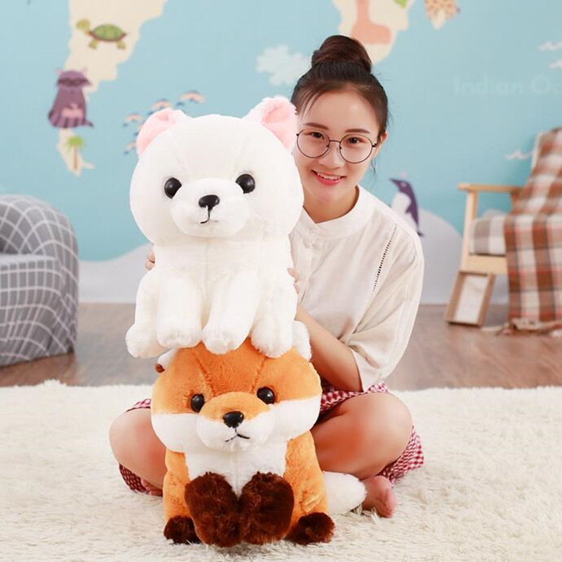 New Arrive  Lovely Stuffed Plush Long Tail Fox Toys Dolls Kawaii Plush Toy Children Friends Gifts