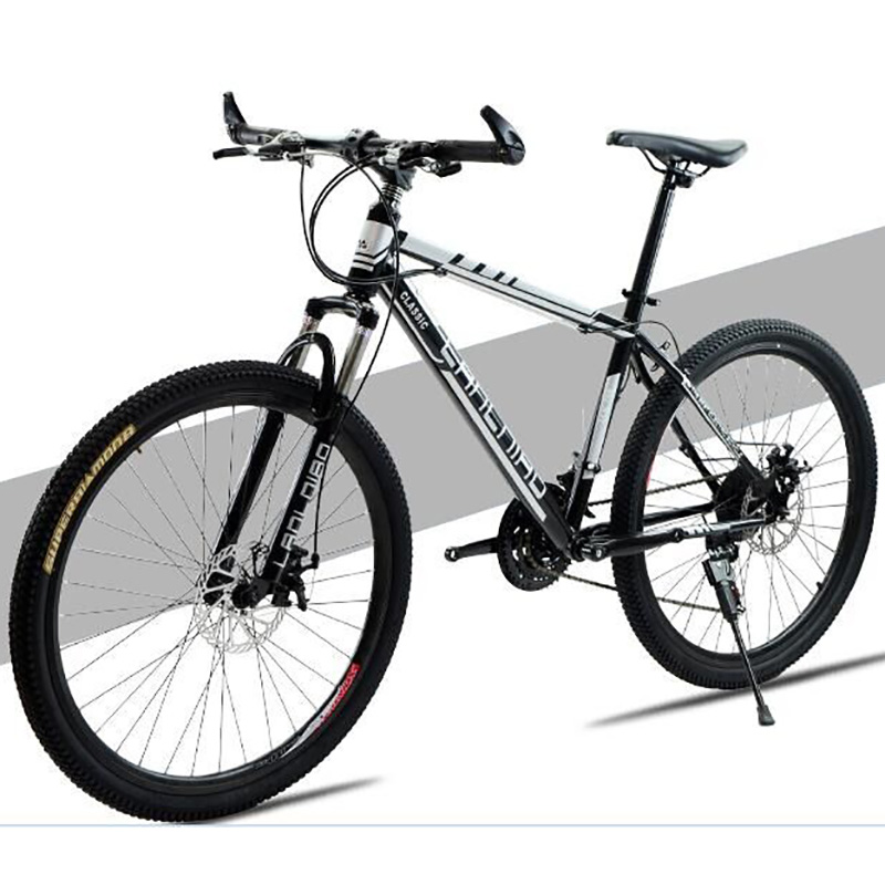 High-carbon Steel 21 Speed 26 Inch Straight Handlebar Cycling Producers Mountain Bike