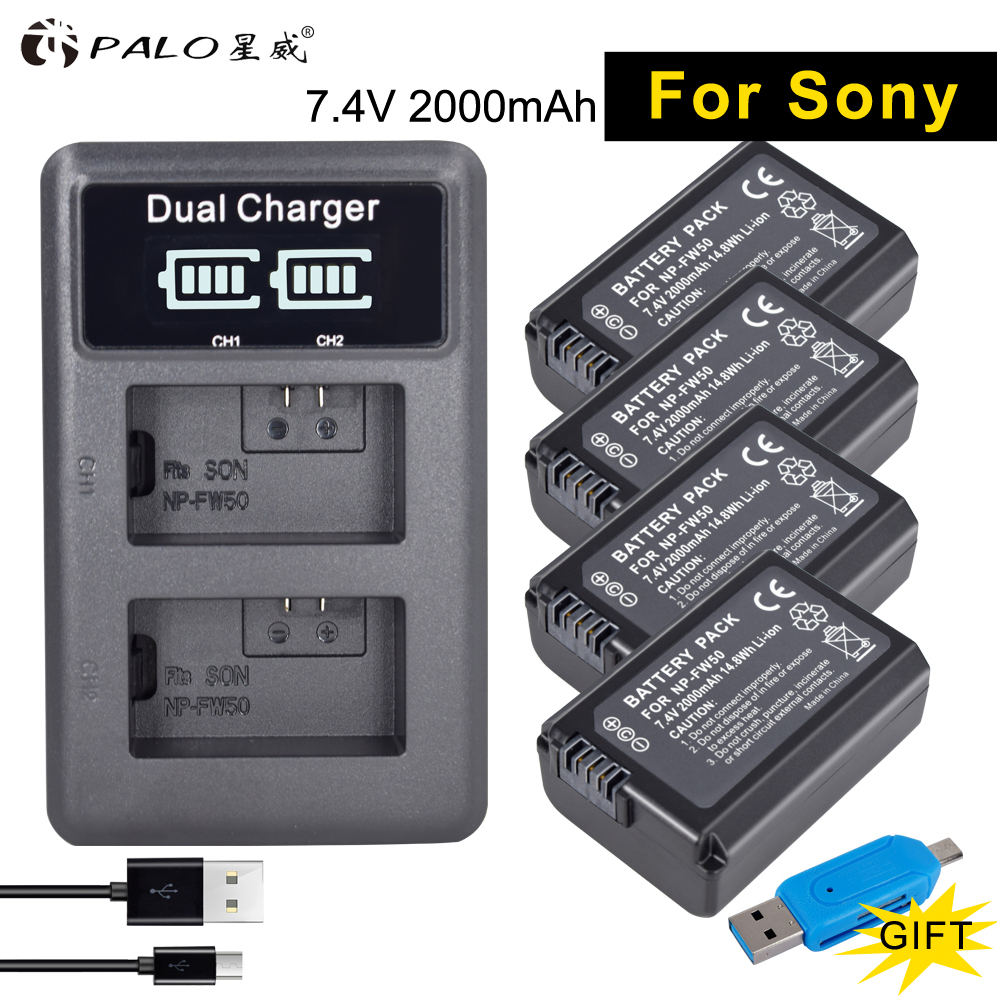 PALO 4Pcs NP-FW50 digital camera Battery 2000mAh FW50 AKKU+ LED Dual Charger for Sony a6500/6300 A7SM2 RX10 II NEX-3/3N/5C/5T/CD architectural surfaces – details for artists architects and designers cd