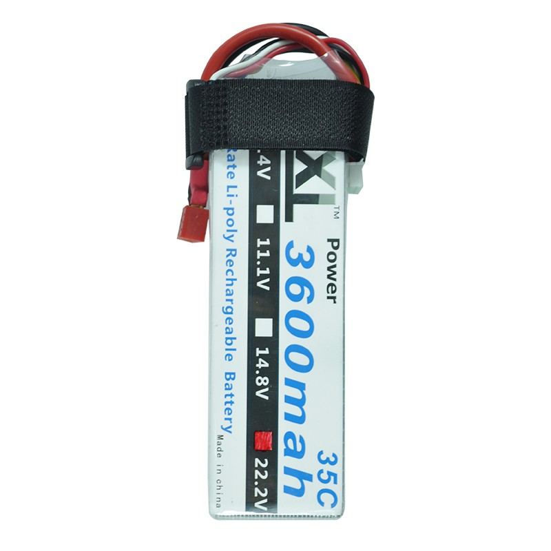 XXL RC battery 3600mAh 22 2V 6S 35C Max 70C LiPo Battery for RC Helicopters Boats