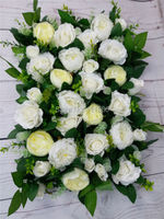 Free Shipping High Quality 10pcs Lot Wedding Decoration Flower Wall Artificial Wedding Backdrop Flower Road Lead