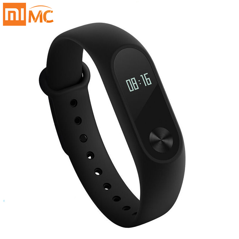 Xiaomi Mi Band 2 Smart Bracelet Watch OLED Display Heart Rate Monitor Bluetooth Fitness Tracker Waterproof Miband 2