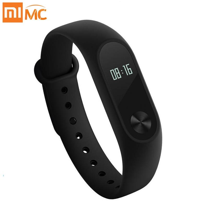 Xiaomi Mi Band 2 Smart Bracelet Watch OLED Display Heart Rate Monitor Bluetooth Fitness Tracker Waterproof Miband 2