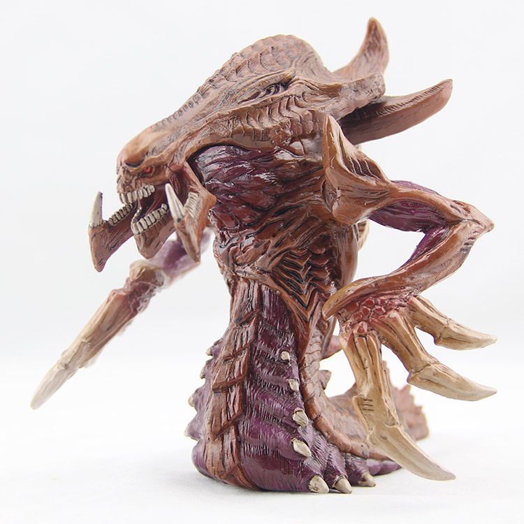 Zerg StarCraft Overmind Lurker toy model Hydralisk size 19cm