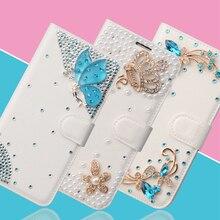 Для OnePlus 5 Чехол 3D diamond кошелек сумка для OnePlus 5 Чехол Флип кожаный блеск Mermaid Coque чехол для One Plus 5 отойти