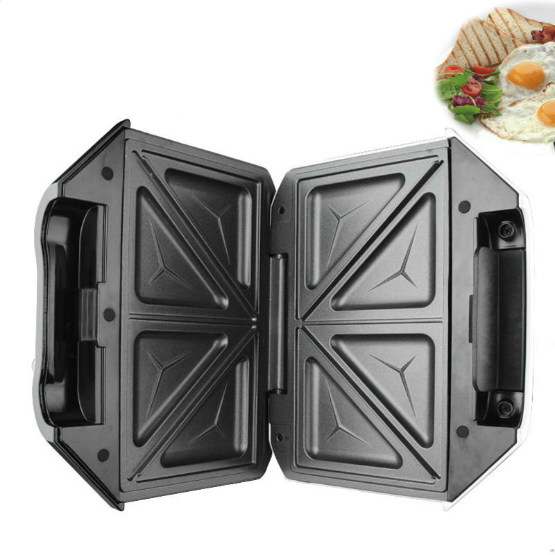 DSP Cooking Breakfast Maker 2 Slice Electric Sandwich Maker Plates Non Stick Coated Plate Easy Clean Washable 750W конверт детский супермамкет конверт с ручками на овчине зайчики кремовый