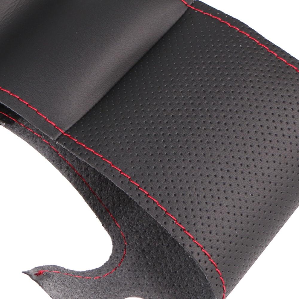 Tresse de volant de voiture en cuir artificiel pour Chevrolet Lova - Accessoires intérieurs de voiture - Photo 3