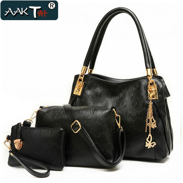 Aakt Brand Women Handbags 2017 Latest Leather Shoulder Bag Messenger Bags Las Clutch Handbag