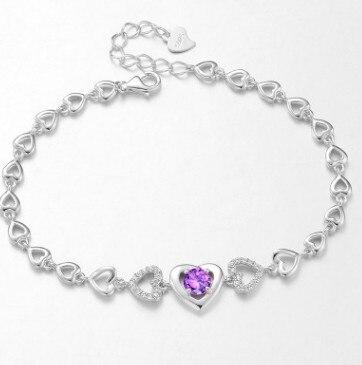 natural stone bracelet silver 925 bracelet chain bracelets bracelet for women