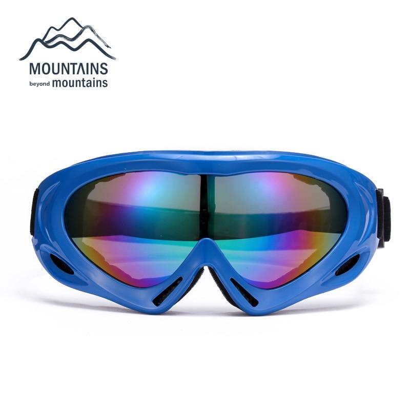 Windproof Dustproof Snowboard Ski Goggles Motorcycle Helmet Goggles Sunglasses