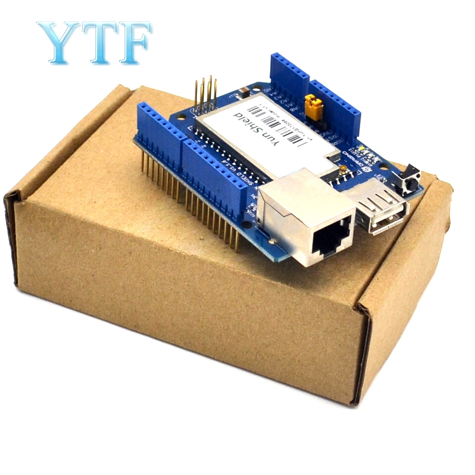 US $21 42 10% OFF|Yun Shield V1 6 Linux WiFi Ethernet USB Project for  Arduino-in Demo Board Accessories from Computer & Office on Aliexpress com  |
