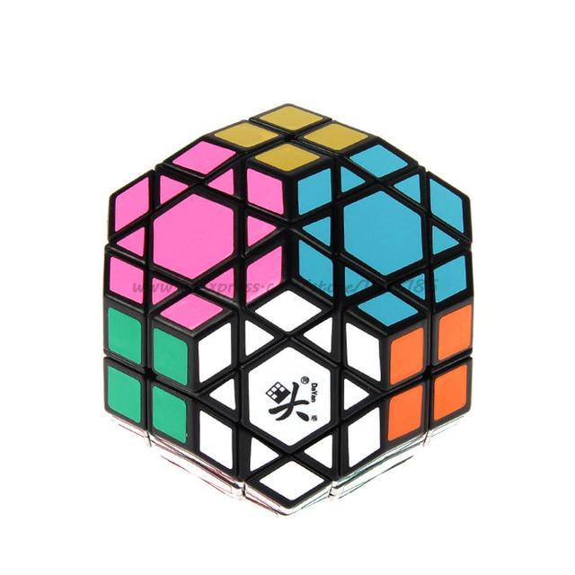DaYan Gem Cube VII Doce ejes tres niveles kub Cubo mágico Rompecabezas Cubo Mágico Juego de juguetes
