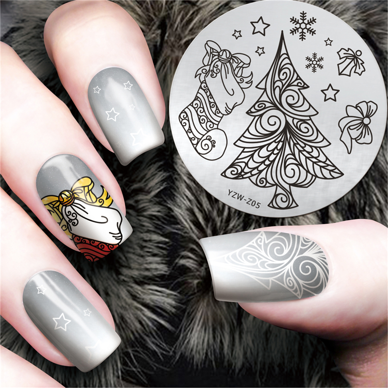 Hand Painted Christmas Nail Art: Aliexpress.com : Buy Original Hand Painted Christmas Them