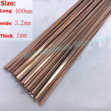Welding-Rod Silver Electrode Copper Flat Low-Temperature Bcu93p 10pc/bag/Bccup-2