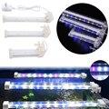4w/6w/8w Crystal LED Aquarium Light Royal Blue Crystal LED Aquarium Fish Tank Ornament Aquarium Lights Aquatic Pet Supplies