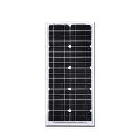 Travel Solar Panel 12v 20w Battery Solar Charger Rv Motorhome Solar Street Light System RV Phone Off Grid LM