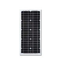 Travel Solar Panel 12v 20w Battery Solar Charger Rv Motorhome Solar Street Light System RV Phone Off Grid LM