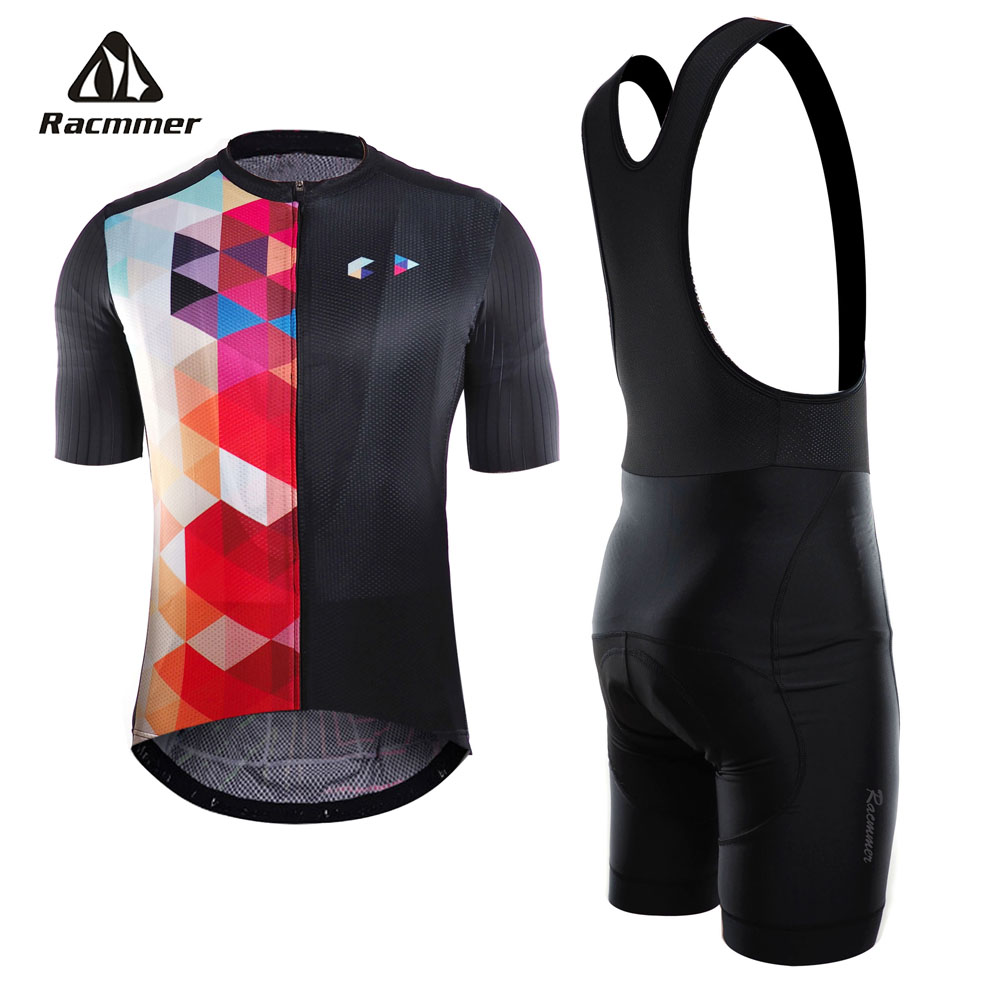 Racmmer 2018 Cycling Jersey Set PRO TEAM AERO Men Bike Clothing Breathable Anti-UV Bicycle Wear/Short Sleeve Cycling Clothes free shipping spartacus men top sleeve cycling jersey polyester bike clothes black breathable cycling clothing size s to 6xl