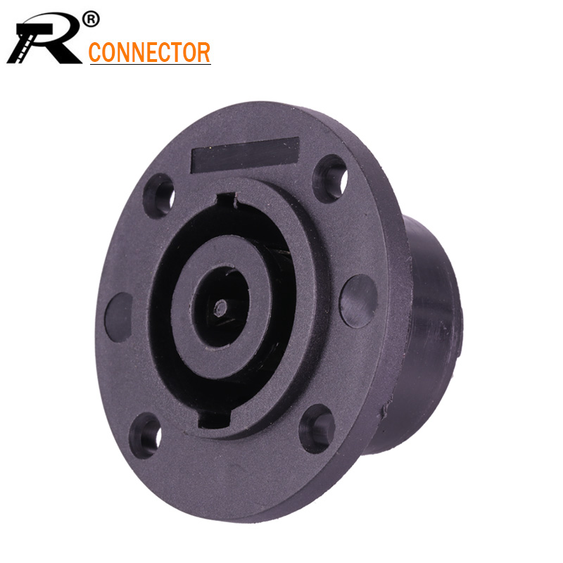 1pc High Quality 8Pin Powercon Jack Female Socket Panel Mount Connector Speaker Cable Adapter 8 Pole SpeakON Jack
