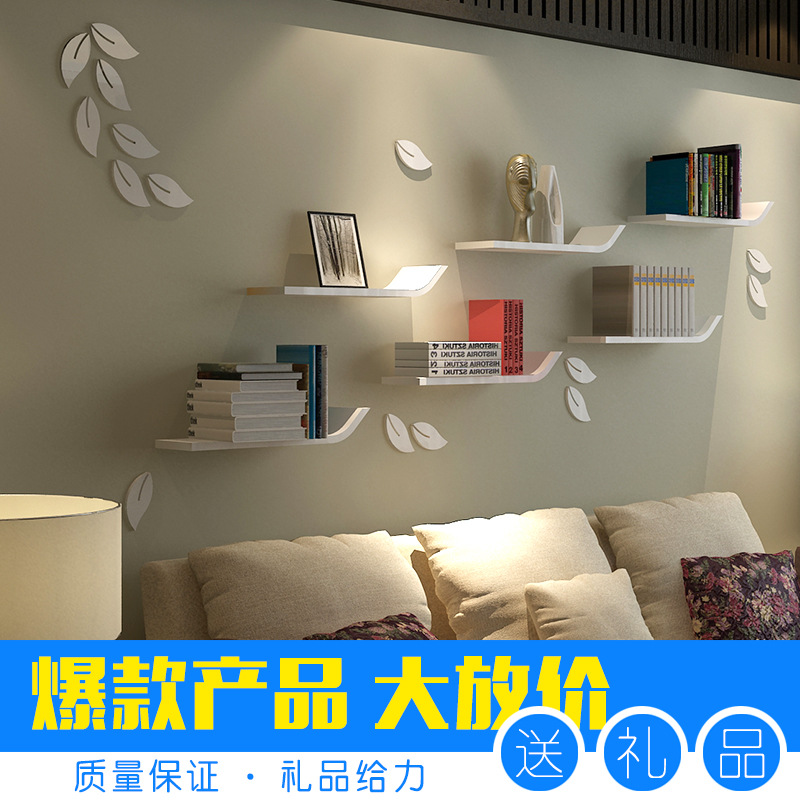 1pcs wall bookshelf wall mounted shelf sitting room tv floating shelves decorative shelves l196 inch x w59 inchl50cm x w15cmin party diy decorations