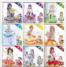 Anime Lovelive cosplay costume Bouquet Hand Flower Awaken All Members Full sets Lolita Dress in stock
