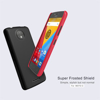 10pcs Lot Wholesale NILLKIN Super Frosted Shield Case For Moto C XT1755 5 0 Inch PC