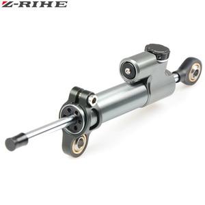 Image 2 - CNC Universal Aluminium Motorrad Dämpfer Lenkung Stabilisieren Sicherheit Control Für Suzuki GSX R GSXR 600 750 1000 K1 K2 K3 K4 k5 K6