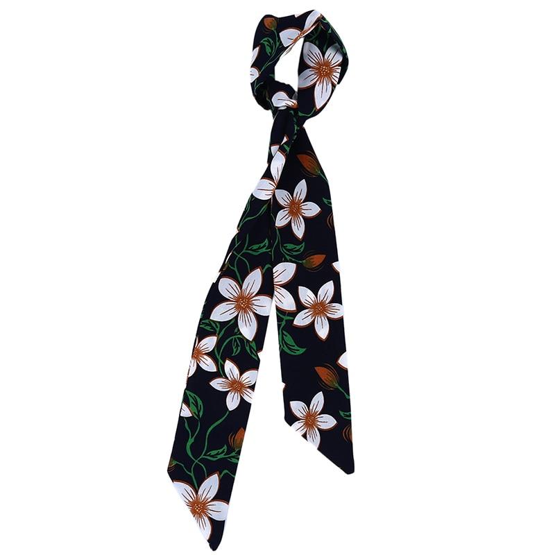 women soft print scarves female