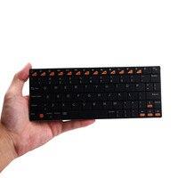 ミニusbハンドヘルドのbluetooth 3.0ワイヤレスキーボード用アプリスマートフォンタブレットpc