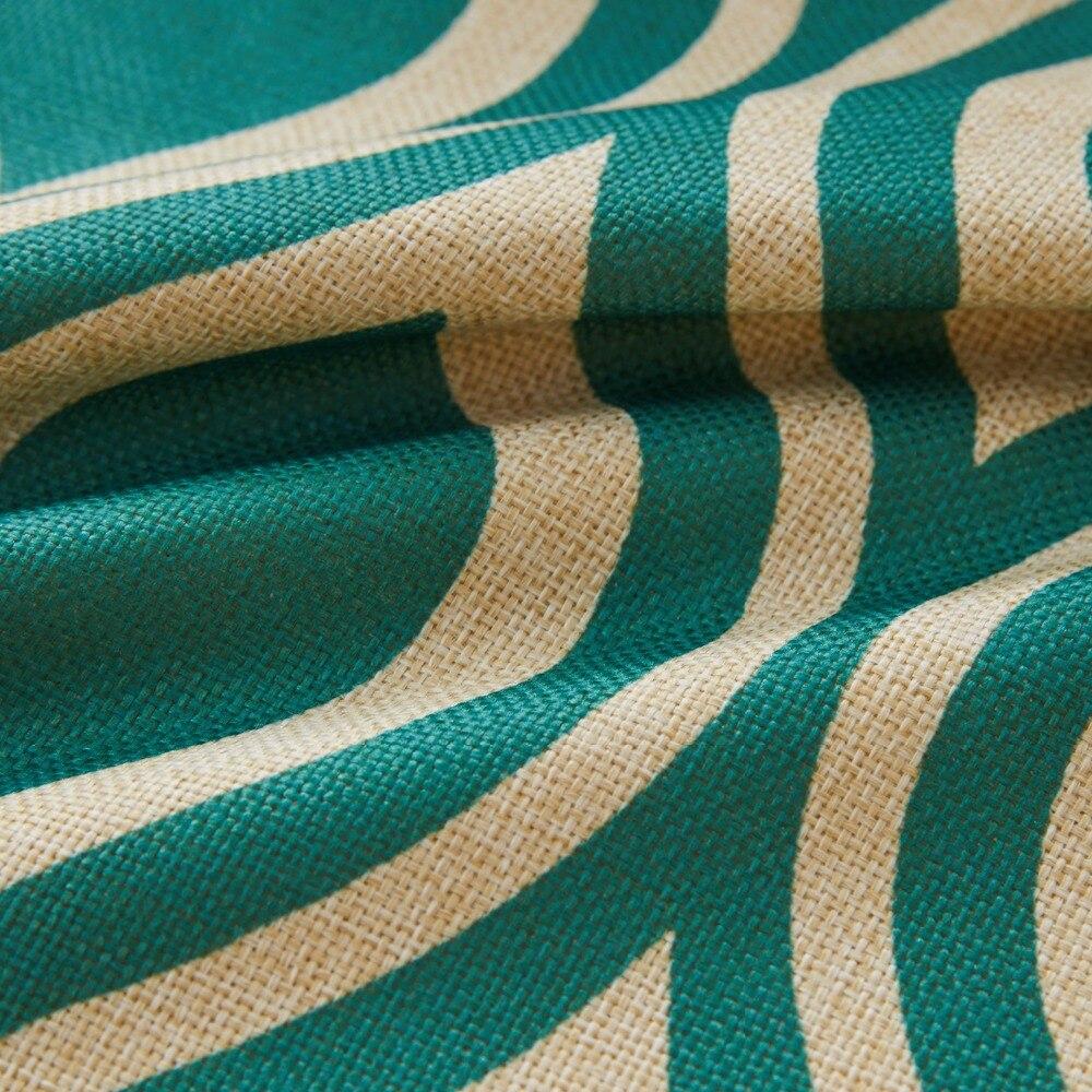 Quatrefoil Teal Тюркоаз Хвърли Калъфка за - Домашен текстил - Снимка 4