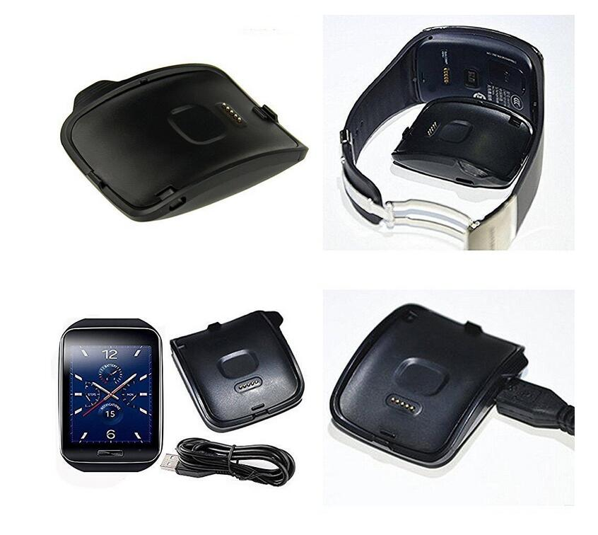 50pcs USB Charger Dock Station Charging Cradle USB Cable for Samsung Galaxy Gear Fit S R750