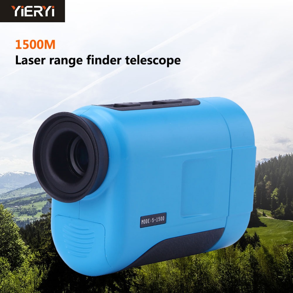 yieryi 1500m Handheld  KXL-Q1500 Laser Rangefinder Telescope Distance Meter Range Finder Golf Hunting Distance Measurement Tool цена и фото