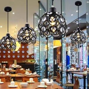 Image 5 - الكريستال مصباح مطعم قلادة أضواء الإبداعية شخصية الحديثة البساطة بار غرفة الطعام دينين الإضاءة عاكس الضوء (ضياء: 20 سنتيمتر)