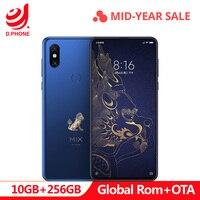 Forbidden City Global Rom Xiaomi Mix 3 Mix3 10GB RAM 256GB ROM Mobile Phone S845 Octa Core 24MP Camera 6.39 Wireless Charging