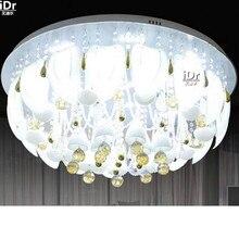Спальня современный дом дистанционного управления LED Хрустальный Свет СВЕТОДИОДНЫЕ Crystal Light Потолочные Светильники wwy-0210