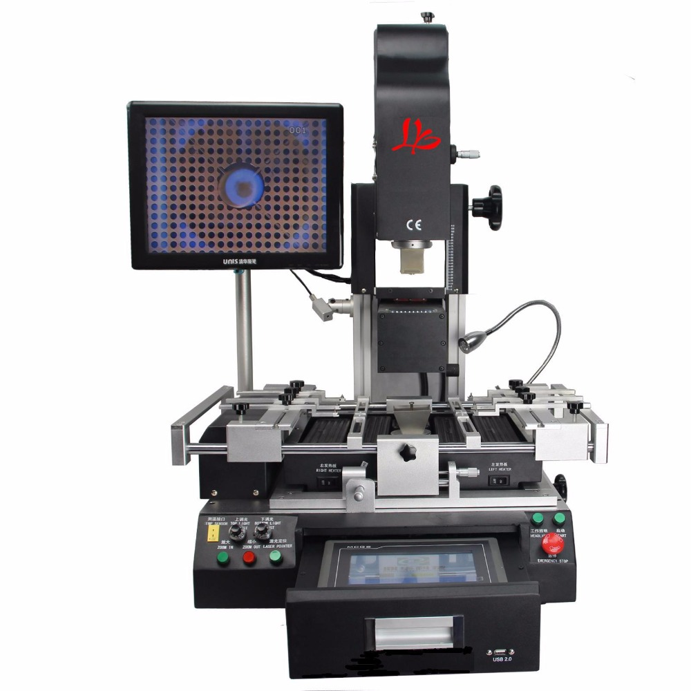 G620 optical alignment system Bga Rework Machine Reball Station with CE certificate, 3 temperature zone цена
