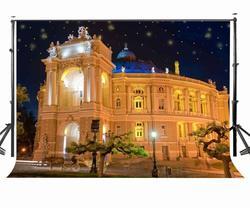 150x210 cm noc dekoracje fotografia tło romantyczny europejski architektura tło rekwizyty studyjne