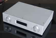 WANBO Finished high-end aquarius Digital Power amplifier AK4118+PCM1794 +OPA2604 Top Audio DAC with full aluminum chassis