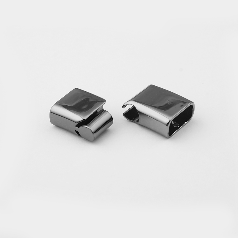 3pcs Gun Black Shiny Silver Magnetic Clasp For 12x6mm Leather Cord End Connector Clasp Diy Bracelet Jewelry Findings Material