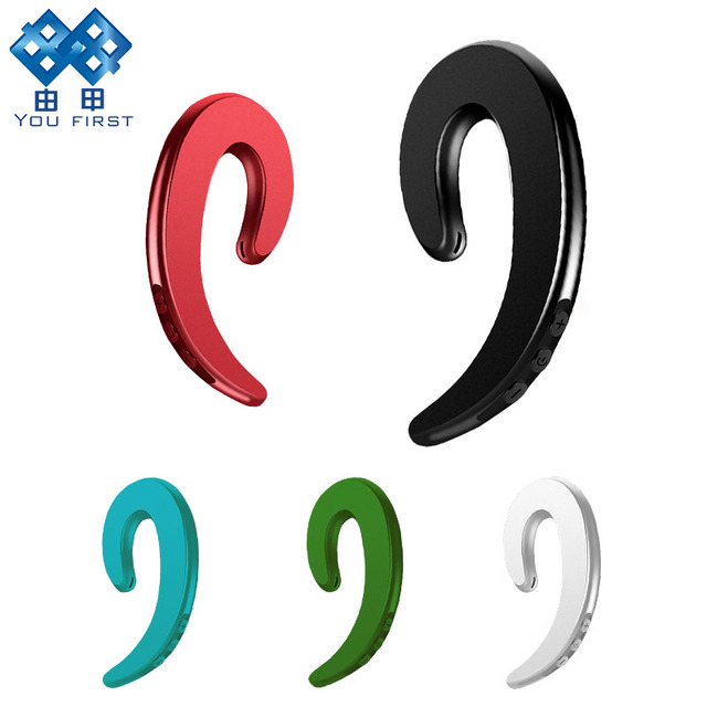 You First Wireless Bluetooth Headset Earphone Ear Painless Hook Headset Bluetooth Sport Headset For iPhone Xiaomi Phone