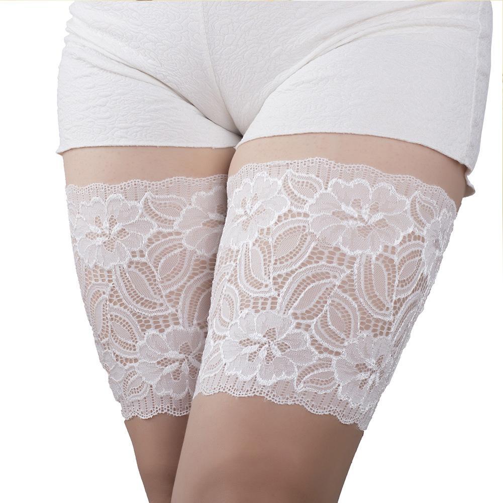 silicone-non-slip-socks-sleeve-elastic-flat-thigh-sleeve-anti-friction-leg-sleeves-elastic-thigh-bands-leg-warmers-for-women