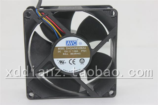 dasa0832b2u new 80 32 12v 1 0a 8 cm four wire pwm large air volume rh aliexpress com